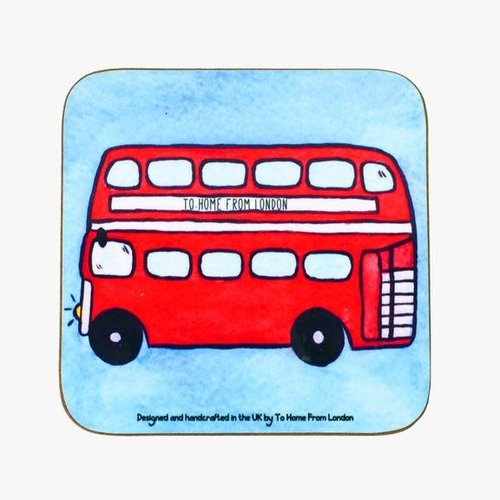 Double Decker Bus Coaster