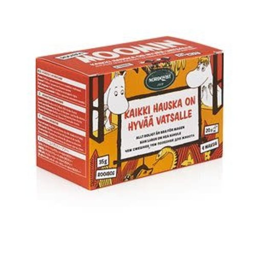 """Moomin """"All Things Fun are Good for Your Tummy"""" Rooibos Tea"""