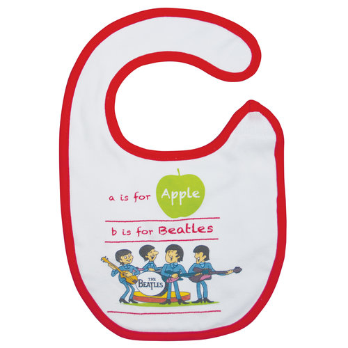 A is for Apple Bib