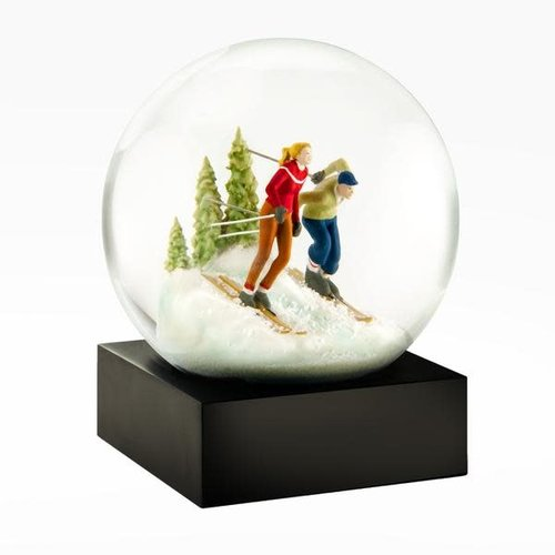 Cool Snow Globes Cool Snowglobes Skiers