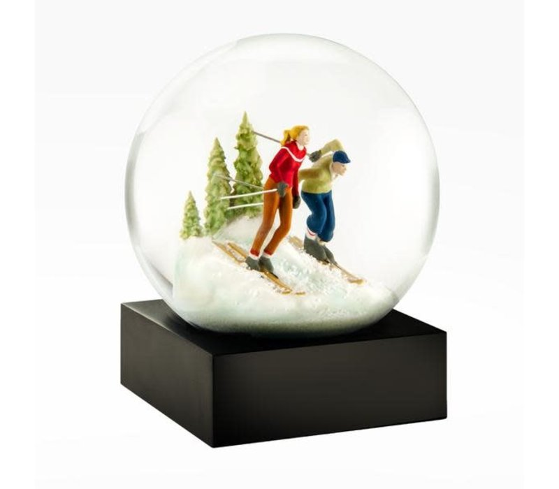 Cool Snowglobes Skiers