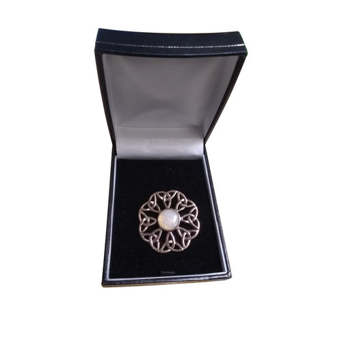 Hamilton & Young Woven Flower Brooch