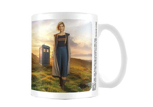 Dr. Who 13th Doctor Ceramic Mug