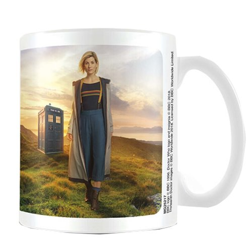 Dr. Who 13th Doctor Ceramic Mug