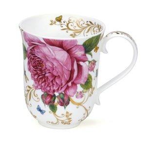 Dunoon Braemar Vintage Rose Mug