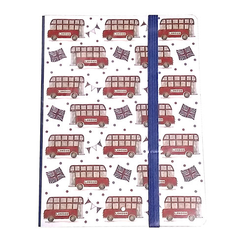 Milly Green Double Decker Bus Note Pad