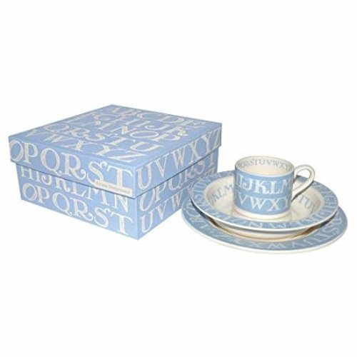 Emma Bridgewater Emma Bridgewater Blue Alphabet 3Pc Set