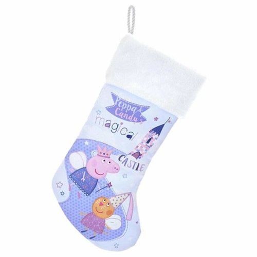 Peppa Pig Kurt S. Adler Peppa Pig & Candy's Magical Castle Stocking