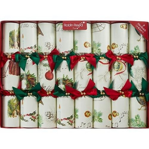 Robin Reed Sleigh Bells Christmas Crackers