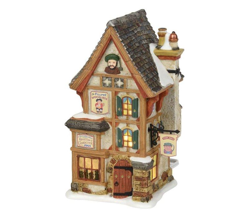 Dickens' Village Series - Olde Pearly's Toby Jugs
