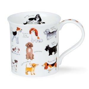 Dunoon Bute Animal Breeds Dog Mug