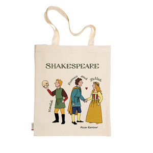 Alison Gardiner Shakespeare Tote Bag