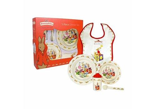 Royal Doulton Bunnykins Melamine 5-Piece Set