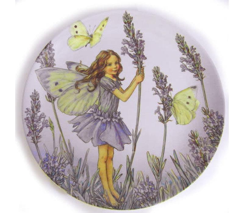 Flower Fairies Lavender Melamine Plate