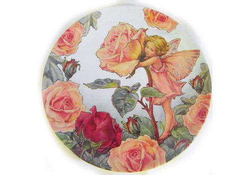 Flower Fairies Flower Fairies Rose Melamine Plate