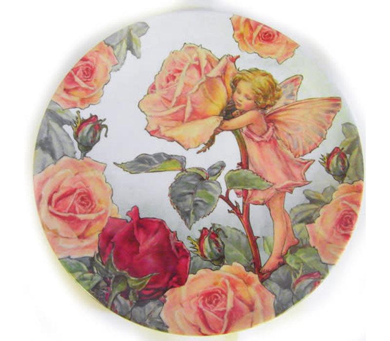 Flower Fairies Rose Melamine Plate