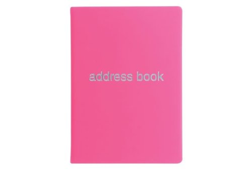 Letts of London Dazzle Address Book Pink