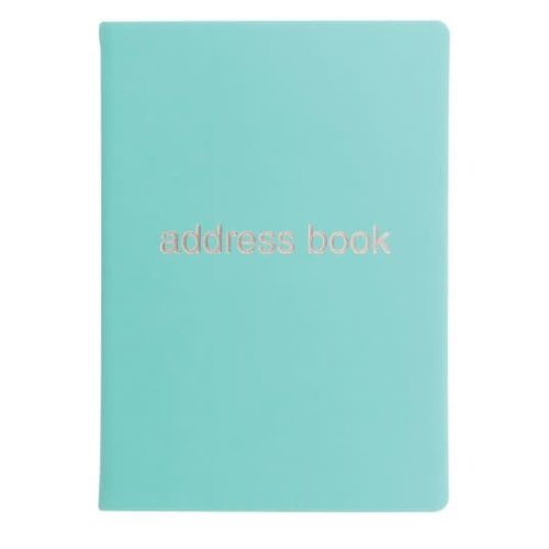 Letts of London Dazzle Address Book Turquoise