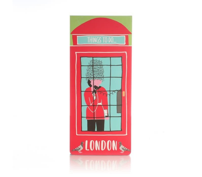Milly Green London Adventures Magnetic To Do List