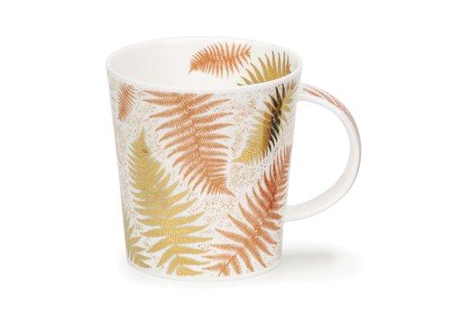 Dunoon Lomond Ferns White Mug