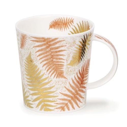 Dunoon Dunoon Lomond Ferns White Mug