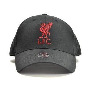 Liverpool FC Black Cap Red Lettering