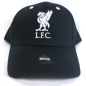 Liverpool FC Black Cap White Lettering