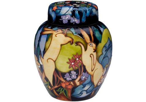 Moorcroft Pottery Moorcroft The Forest Ginger Jar 769/8 (LE20)