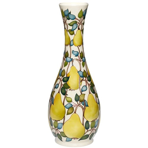 Moorcroft Pottery Moorcroft Williams Pear Vase 82/16 (LE30)