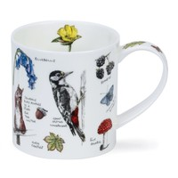 Orkney Country Notebook Wood Mug