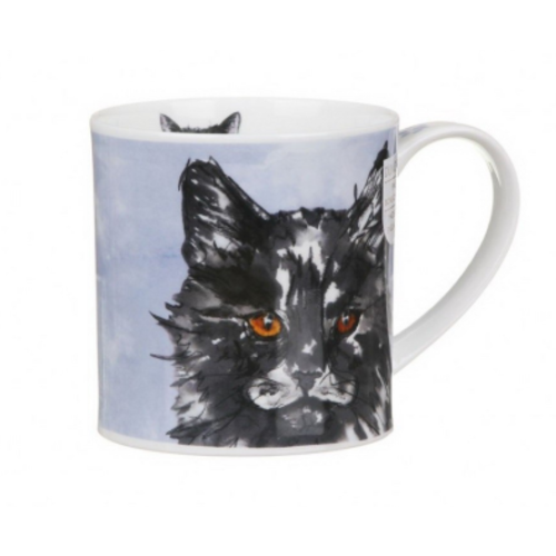 Dunoon Dunoon Orkney Pawtraits Black & White Cat Mug