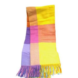 Aran Woollen Mills Multi Color Tweed Blanket