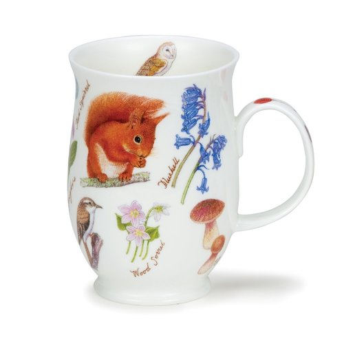 Dunoon Suffolk Woodland Squirrel Mug