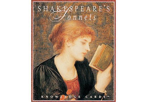 Pomegranate Shakespeare's Sonnets Knowledge Cards