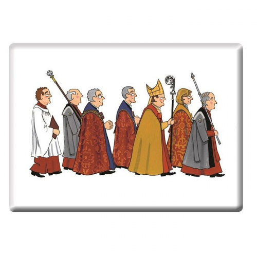 Alison Gardiner Cathedral Procession Magnet