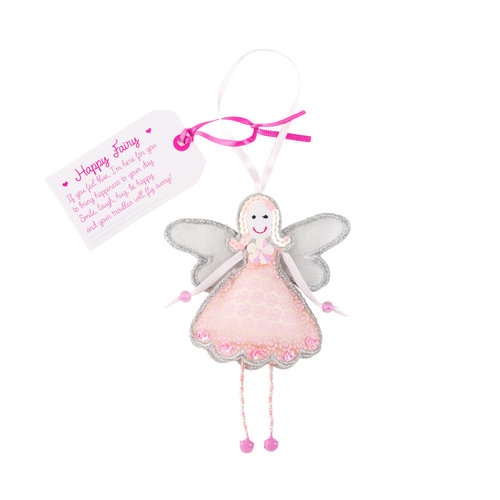 Believe You Can Happy Fairy Ornament