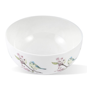 Mosney Mill Mosney Mill Blue Tit on Blossom China Open Sugar/Nibbles Bowl