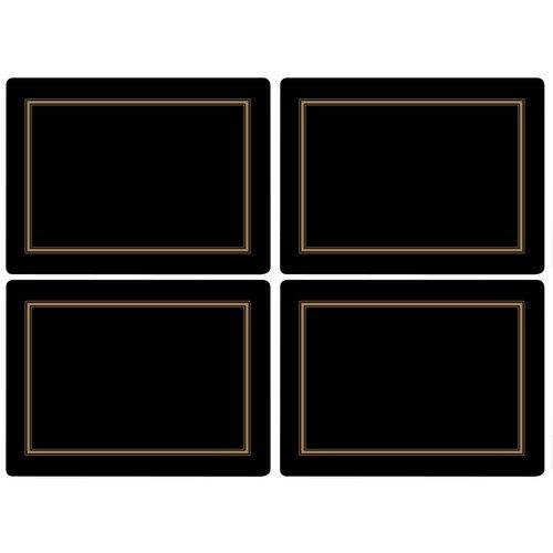 Portmeirion Portmeirion Black Classic Placemats