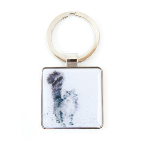 Wrendale Wrendale Cat 'Lady of the House' Keyring