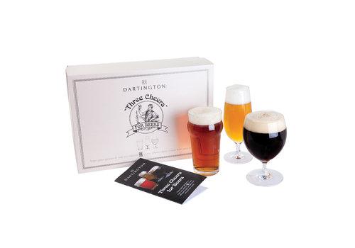 Dartington Crystal Dartington Crystal Three Cheers for Beers 3 pack