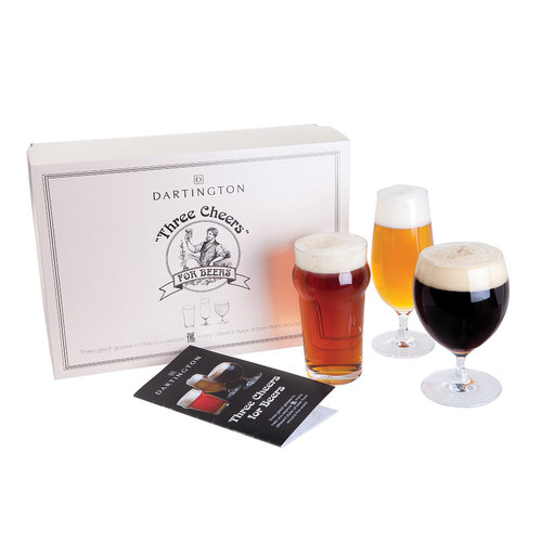 Dartington Crystal Dartington Crystal Three Cheers for Beers 3 pack