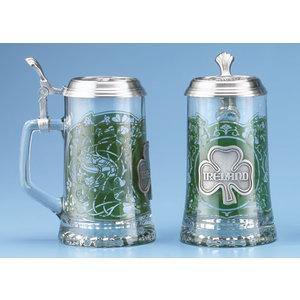 Glass Ireland Stein