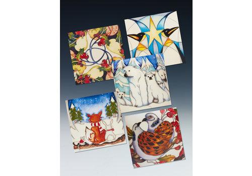 Moorcroft Pottery Moorcroft Greeting Cards