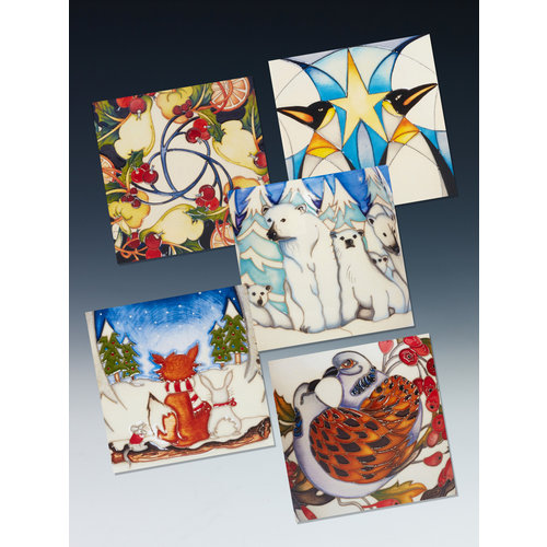 Moorcroft Pottery Moorcroft Greeting Cards