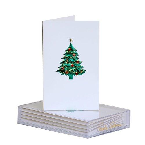 Paula Skene Paula Skene Tree With Ornaments (mini notes)