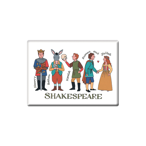 Alison Gardiner Shakespeare Fridge Magnet (Jumbo 90 x 65mm)