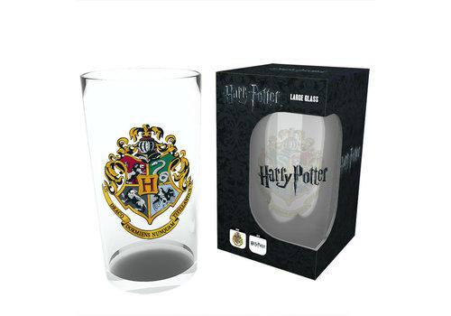 Hogwarts Crest Large Glass