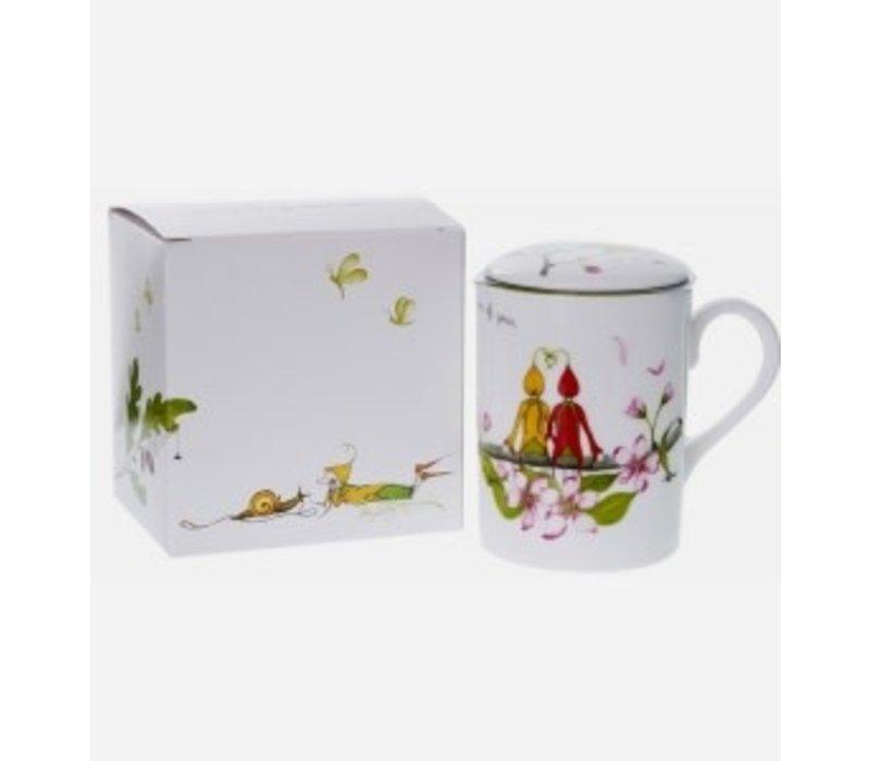 Emma Dunne Teacup w/ Infuser