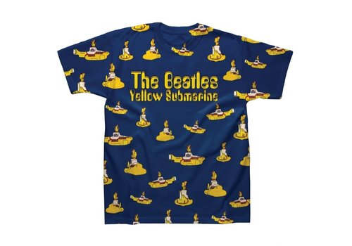 Spike Leissurewear Multi Yellow Submarines Sublimation T-Shirt