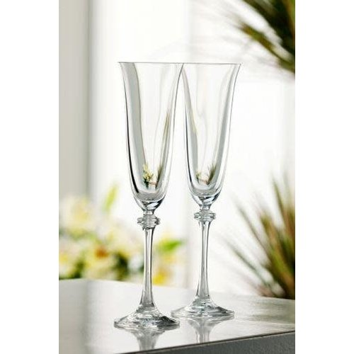 Galway Crystal Galway Liberty Flute Set of 2